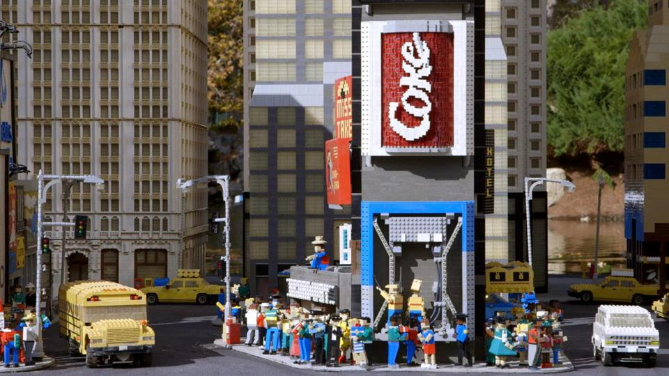 A LEGO display in the documentary.